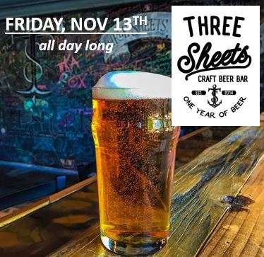 savethedate three sheets craft beer dublin